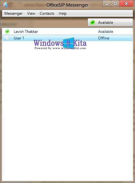 Tutorial Cara membuat dan menggunakan Server SIP pada Windows 8